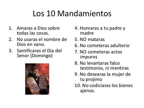 los diez mandamientos para nios 10 mandamientos catolicos related keywords 10