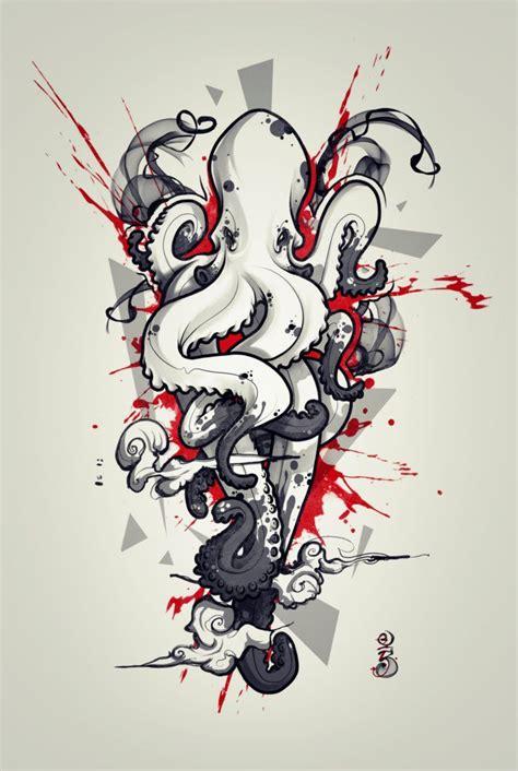 octopus tattoo design octopus design 2 by remiismeltingdots deviantart