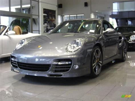 grey porsche 911 turbo 2012 meteor grey metallic porsche 911 turbo s coupe