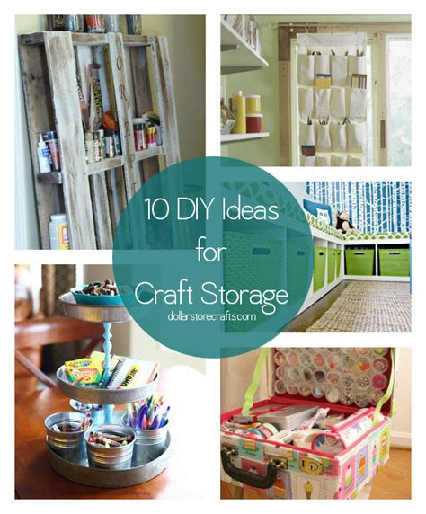 diy craft store cheap craft room storage ideas quotes