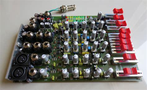 Box Mixer Audio Rakitan jual 6 channel profesional audio mixer potensio geser