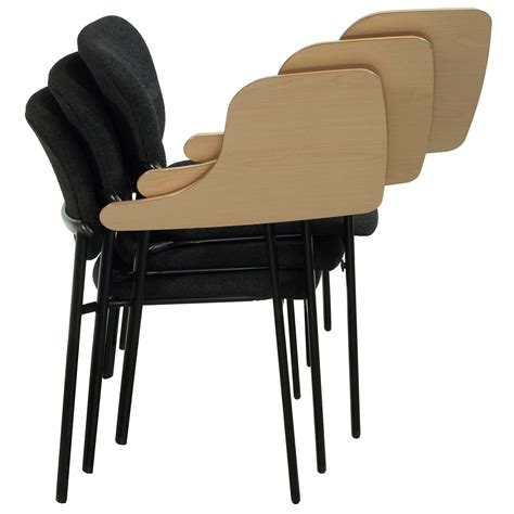 Tablet Chairs by Haworth Improv Used Stackable Right Tablet Arm Chair