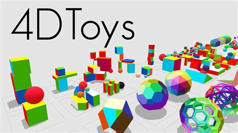 Toys Box 5 4d toys a box of four dimensional toys and how objects