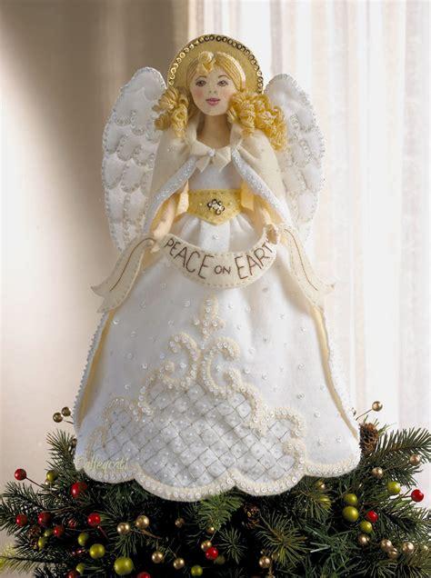 penguin angel tree topper bucilla felt home decor kits fth international sales ltd