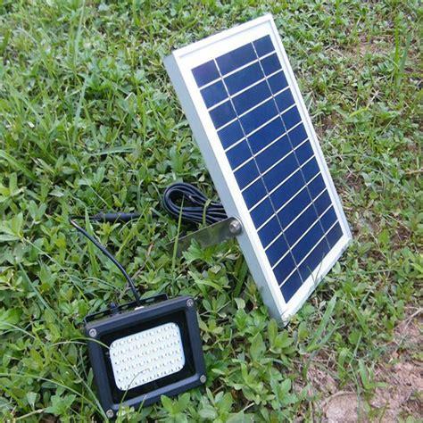 Solar Powered 54 Led Waterproof Outdoor Security Panel Solar Billboard Lights