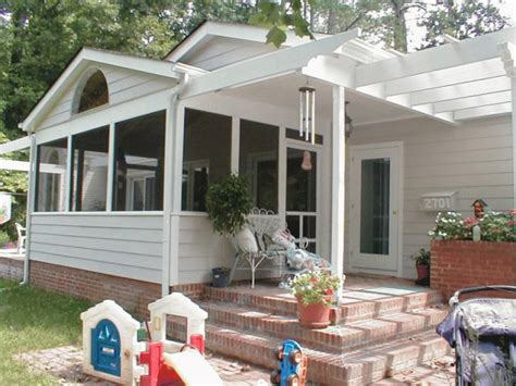 How To Enclose A Patio With Screen by Raleigh Screen Porches Remaley Construction Co Inc