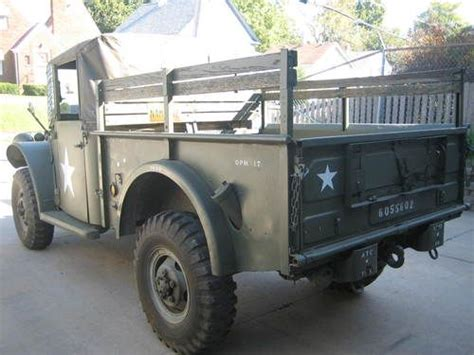 purchase used 1952 m 37 dodge power wagon truck