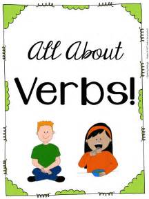 all about verbs a verb and sentence creation packet