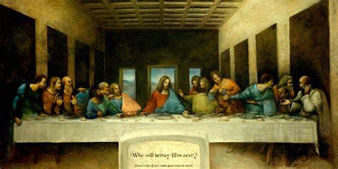 imagenes catolicas de la ultima cena la 218 ltima cena como motivo un caso religioso y otro