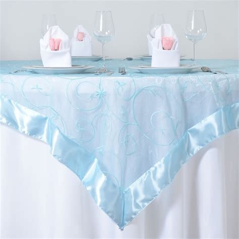 table overlays for wedding reception embroidered sheer organza table overlays wedding