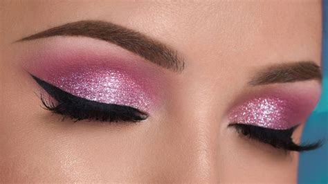 makeup pink the sparkling magic of diy glitter eye makeup