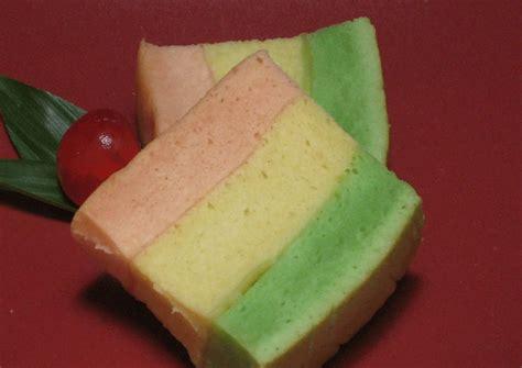 bolu kukus pelangi mekar praktis resep resepkoki pin resep nagasari kue basah masakan indonesia cake on