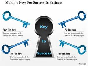 business diagram multiple keys for success in business