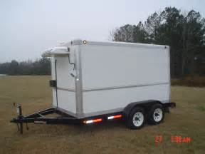 portable cookers and refrigerated trailers