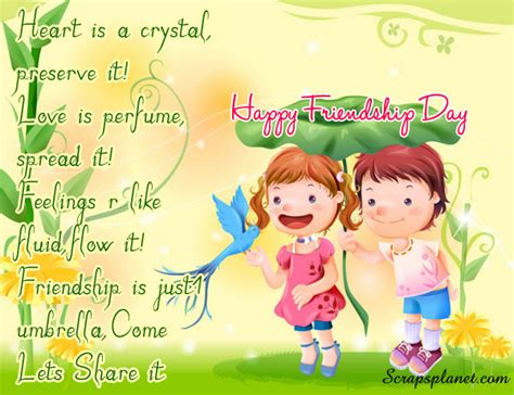 day card sayings for friends happy friendship day cards orkut scraps comments for