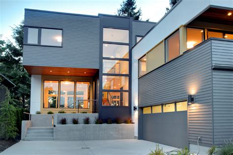Contemporary House Siding Schmitz Park House