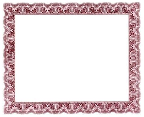 brown certificate borders for word document http