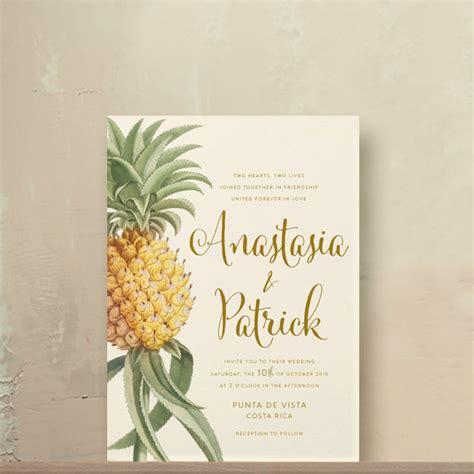 invitation pineapple wedding invitations 2328267 weddbook - Pineapple Wedding Invitations