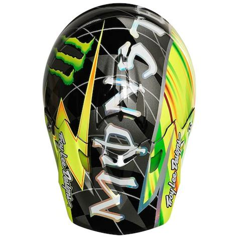 design helmet monster troy lee se3 mcgrath monster helmet revzilla