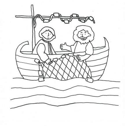 coloring pages jesus fish disciples the miraculous catch of fish coloring pages
