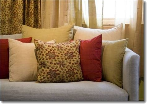 how to clean sofa pillows how to arrange pillows on a sofa with pictures ehow