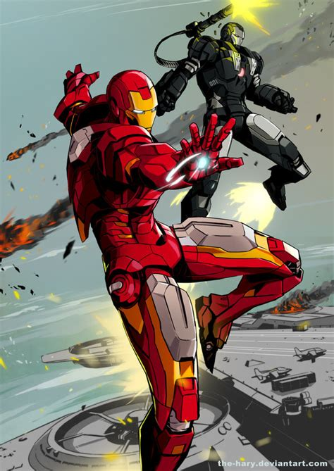 Iron War Machine Comic ironmanwarmachine by the hary on deviantart