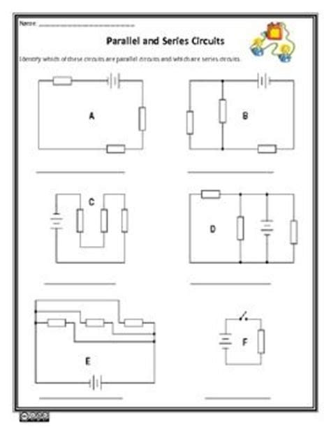 circuits in parallel and series worksheet parallel circuit worksheet worksheet workbook site