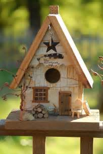 rustic birdhouse bird houses and feeders pinterest