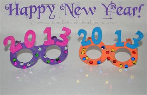 new year craft for new years ideas for