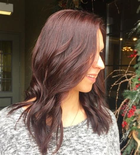 mahogany colored hair it s all the rage mahogany hair color