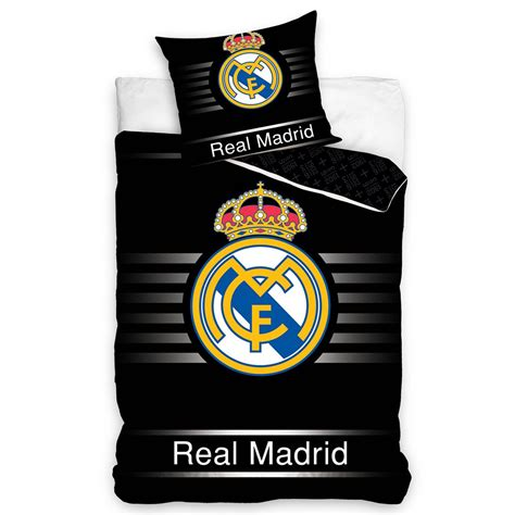 housse de couette football official real madrid single duvet covers football