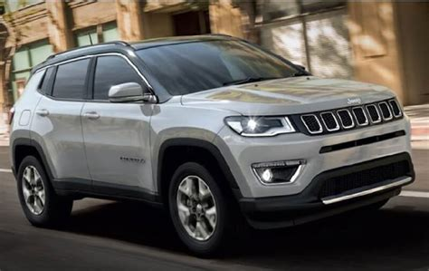 jeep compass limited sunroof jeep compass limited plus variant launched gets sunroof