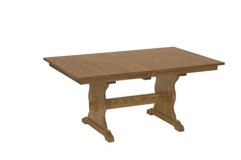 Trestle Dining Room Tables Amish Trenton Dining Room Tables