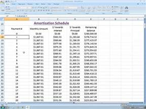 excel amortization schedule template amortization table excel amortization table excel