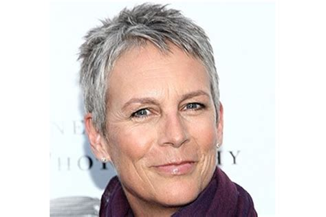 how to style hair like jamie lee curtis lee curtis how best style for grey hair you decide always new you