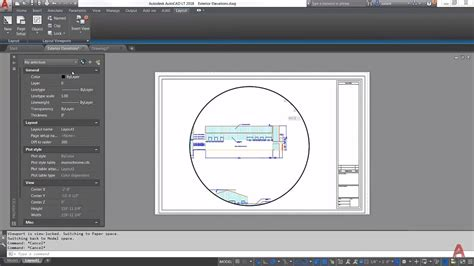 layout autocad lt video of the month introduction to layouts viewports