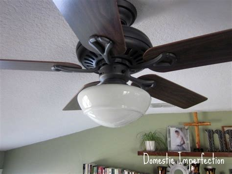 Domestic Ceiling Fans by Ceiling Fan Lshades Domestic Imperfection