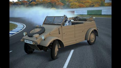 gt drift volkswagen kubelwagen typ   youtube