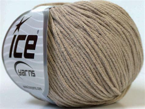 Drops Beige Benang Rajut Impor Katun Cotton Import benang rajut alara beige 77d crafts