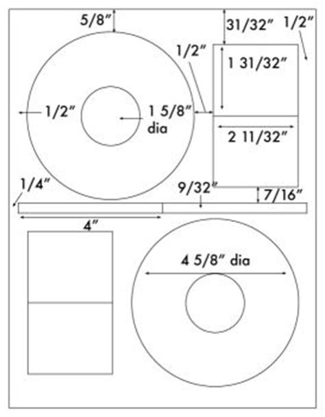 Cd Stomper Template by 200 White Matte Cd Dvd Labels For Laser And Inkjet Use