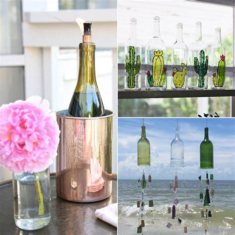 wine decorations for the home old wine bottle decorating ideas popsugar home
