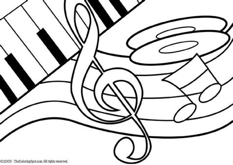 music themed coloring pages coloring page music theme img 5952