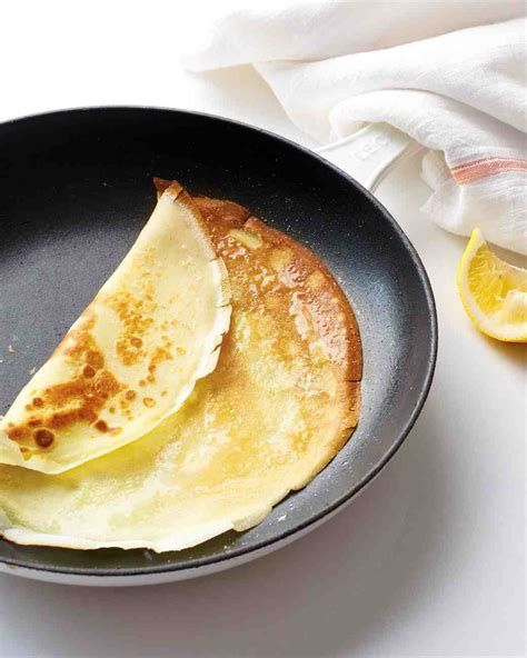 simple crepes recipe recipe video martha stewart