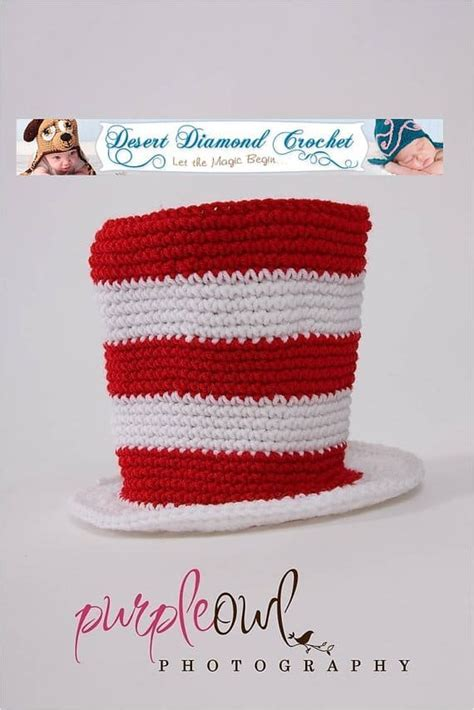 crochet pattern cat in the hat dr seuss crochet patterns the cutest collection of ideas