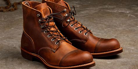boat shoes red wing how to break in your first pair of red wing boots askmen