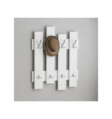 appendiabiti porta appendiabiti da parete boards in legno bianco rovere