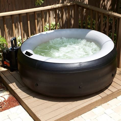 bathtub hot tub find out what s the best inflatable portable style of hot tubs