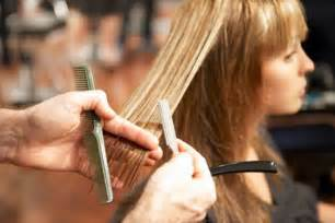 cutting hair so it hair services blown away hair salon