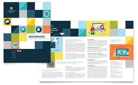 free adobe illustrator brochure templates illustrator templates brochures flyers stocklayouts