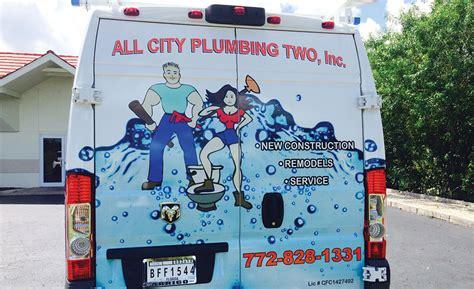 All City Plumbing by Truck Of The Month All City Plumbing Two St West